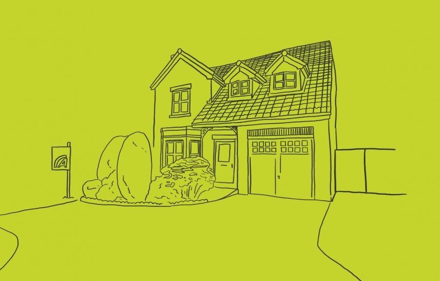 illustration housing