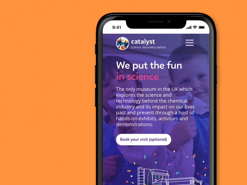 Catalyst Science Museum website Web, Illustration - Design Agency