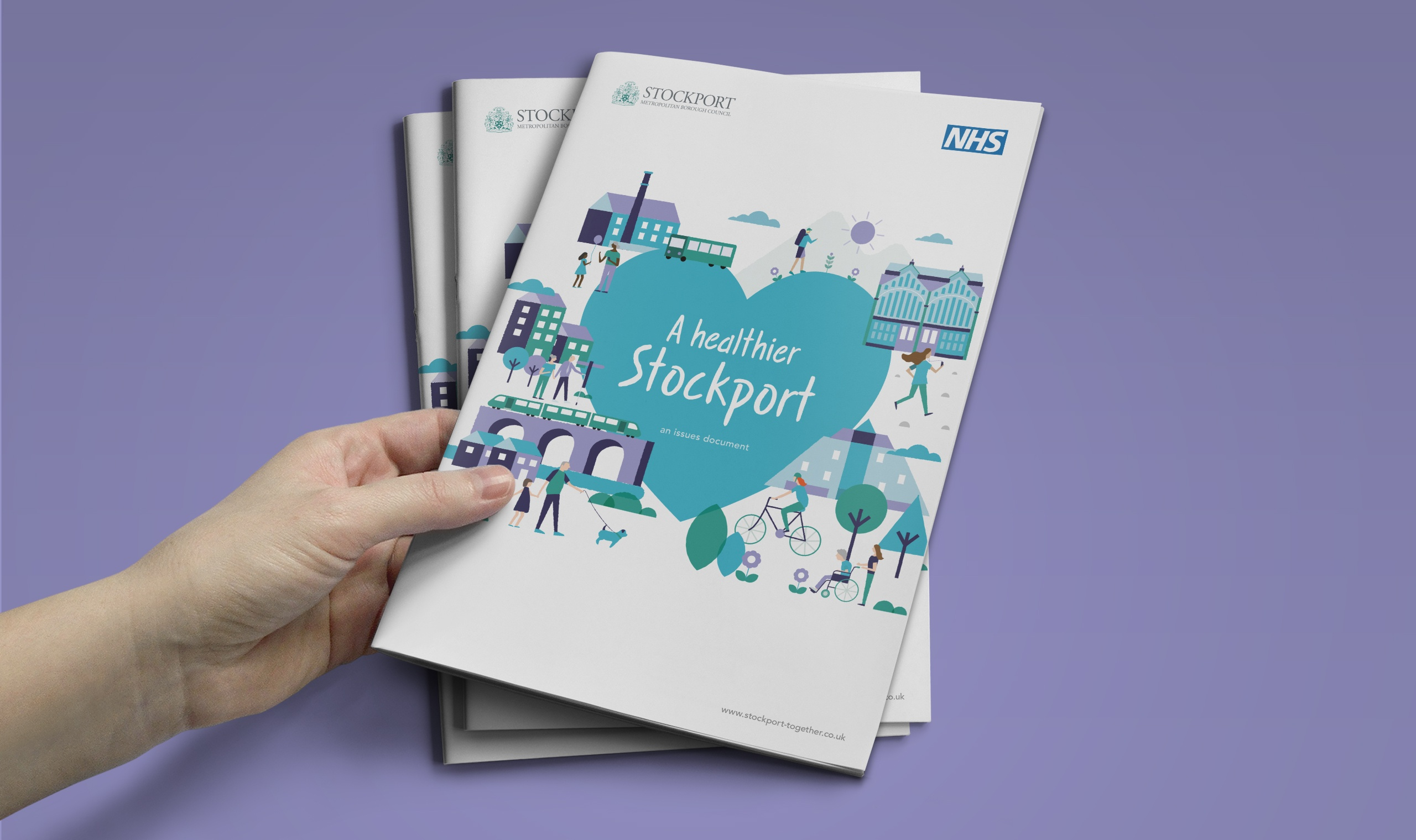 Healthier Stockport brochure