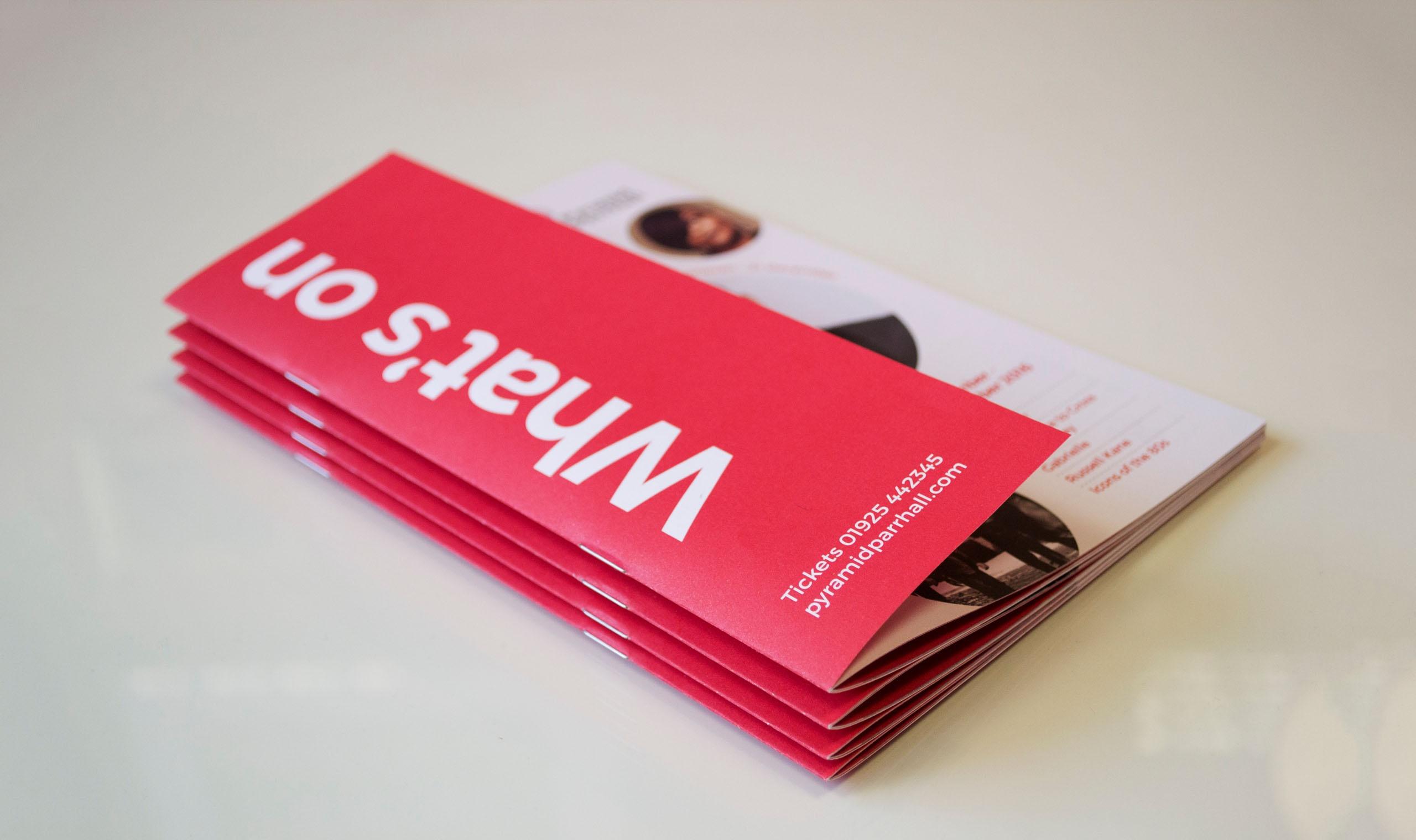 Leaflet photography design