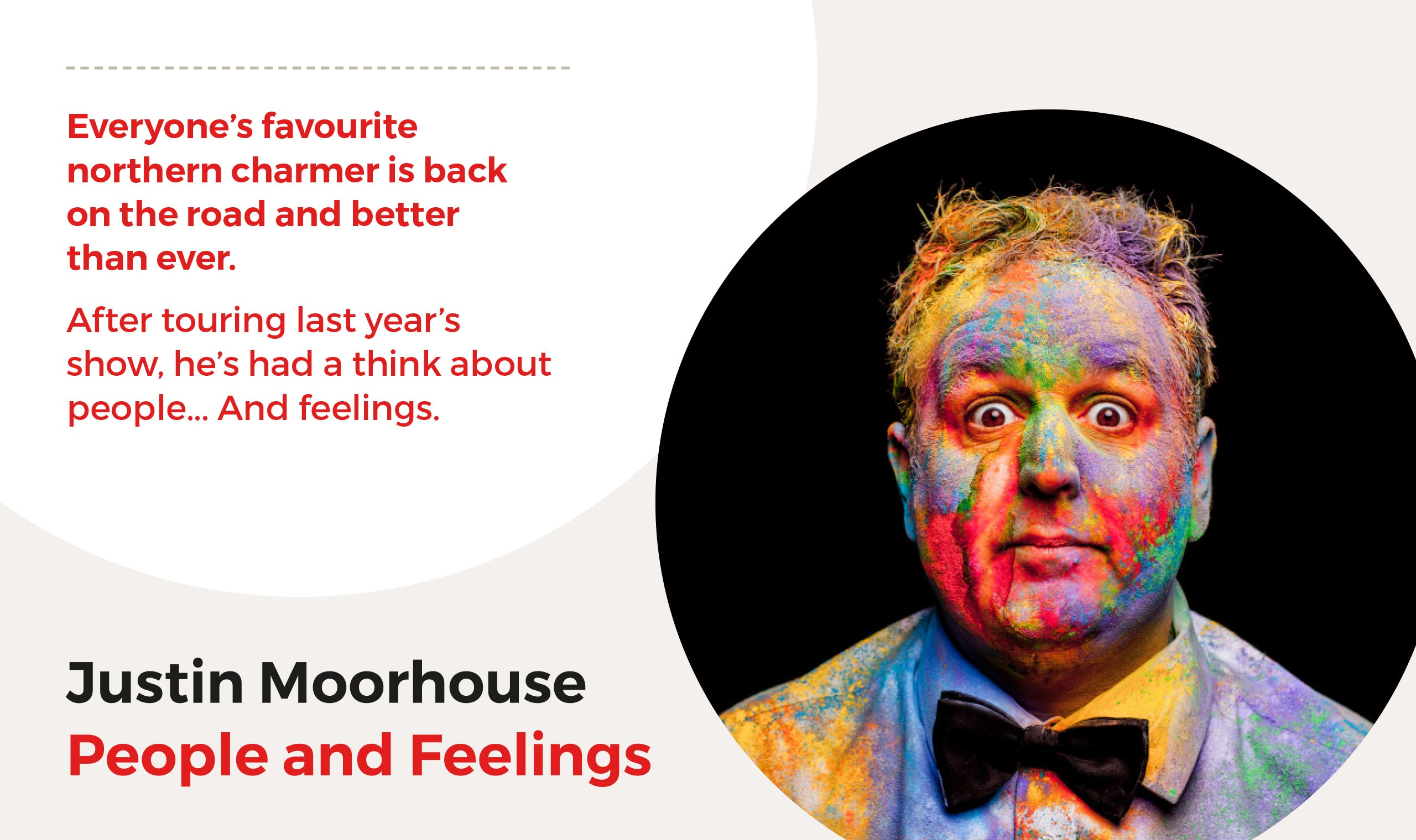 Justin Moorhouse quote