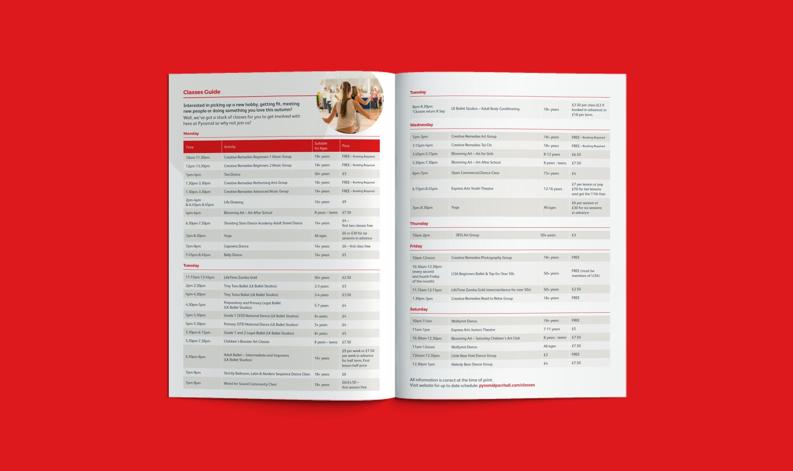 events guide warrington