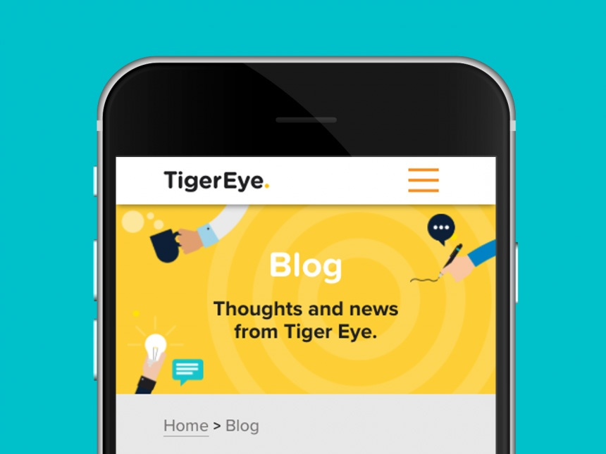 Tiger Eye Digital Website design and development