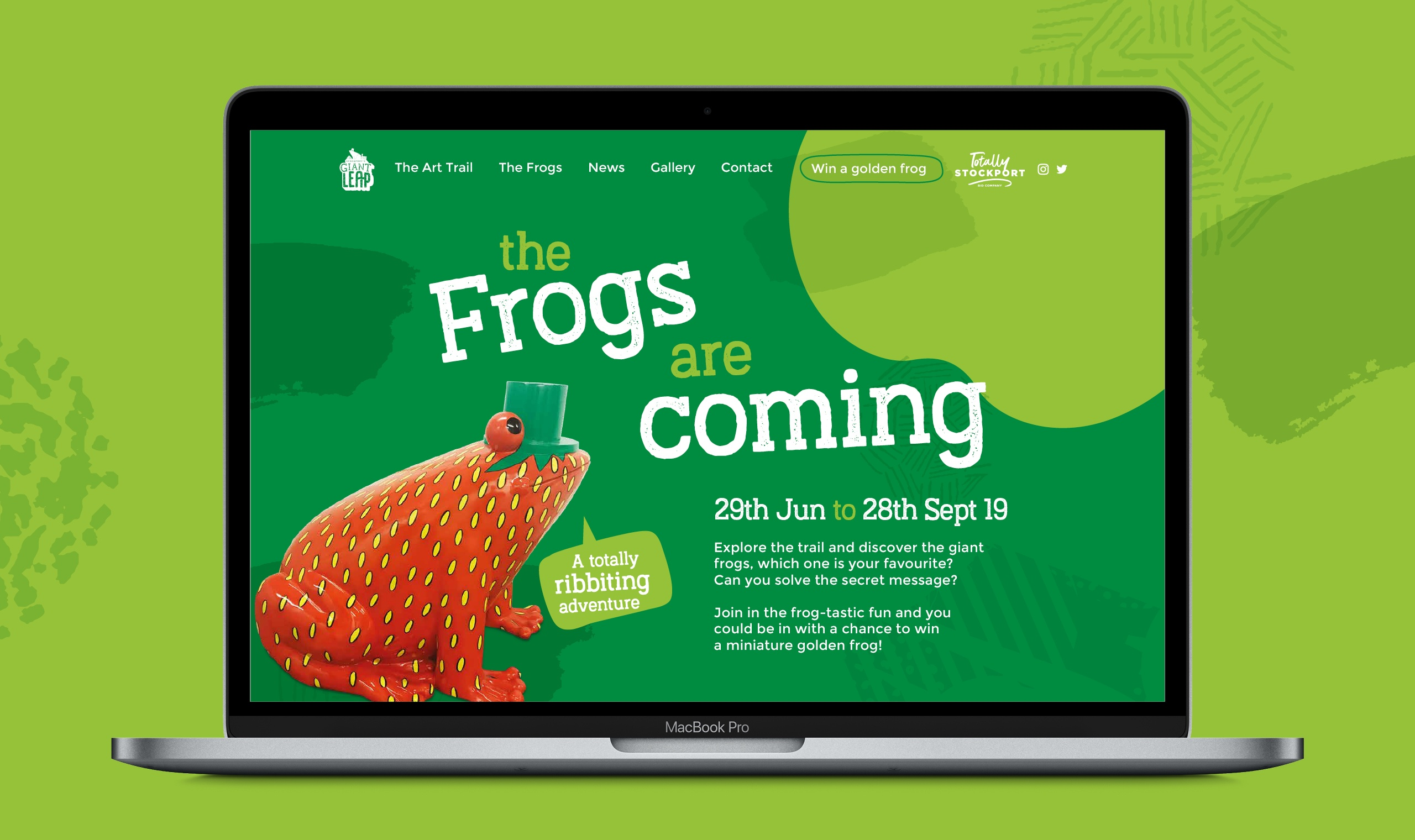 Stockport Frog trail