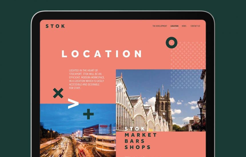 STOK Stockport Manchester Website Design and Development