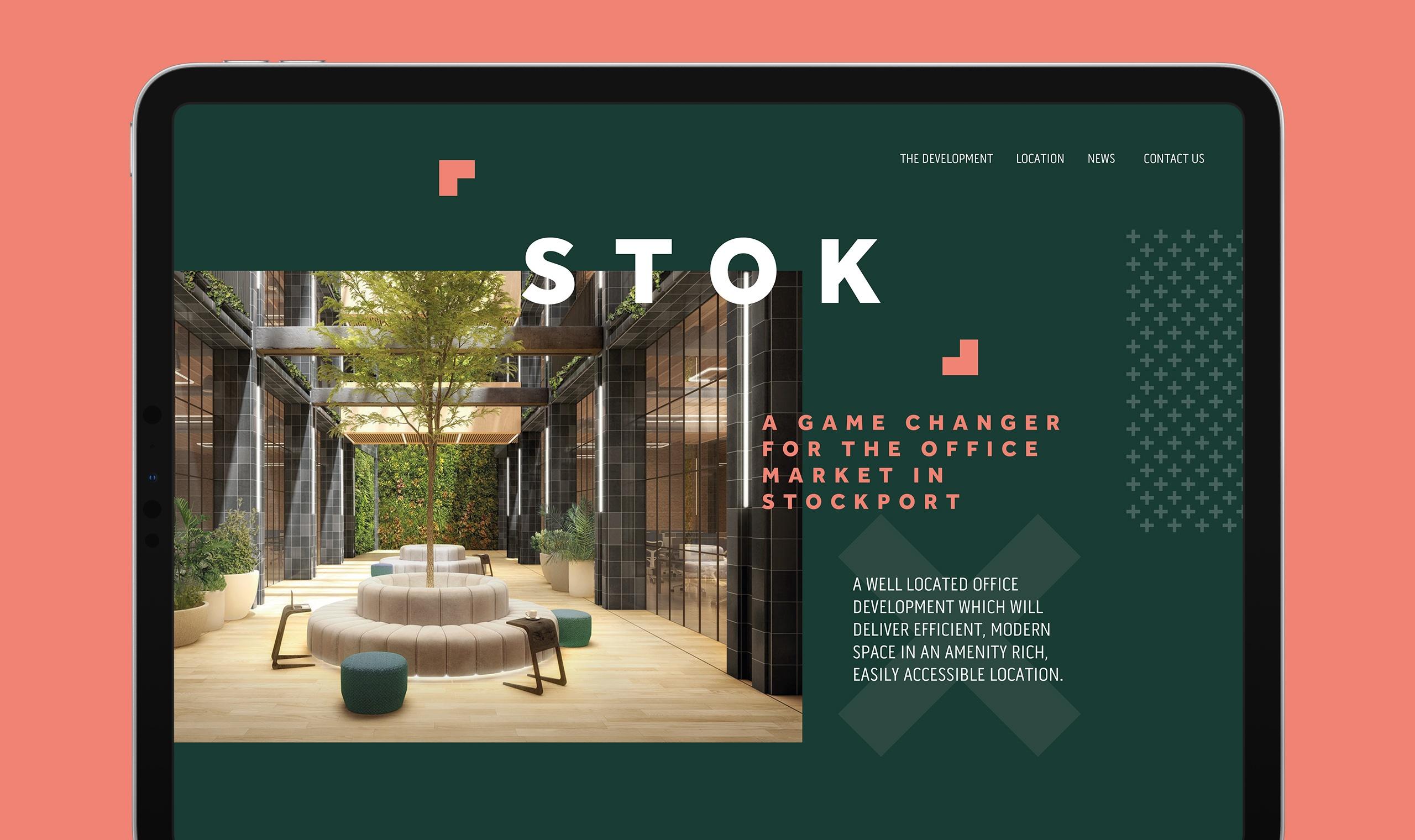 STOK Stockport Manchester Website Design