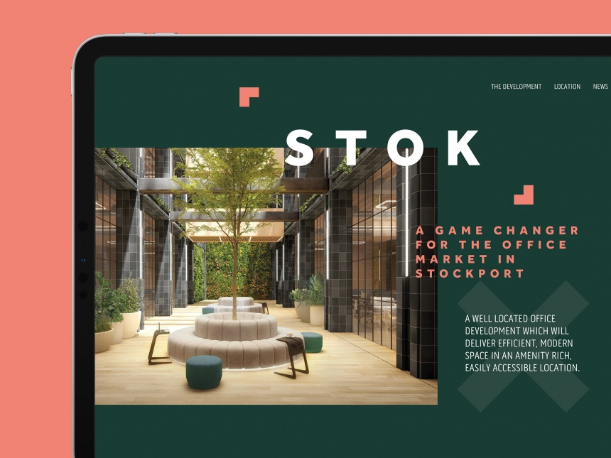 STOK Branding and Website Development