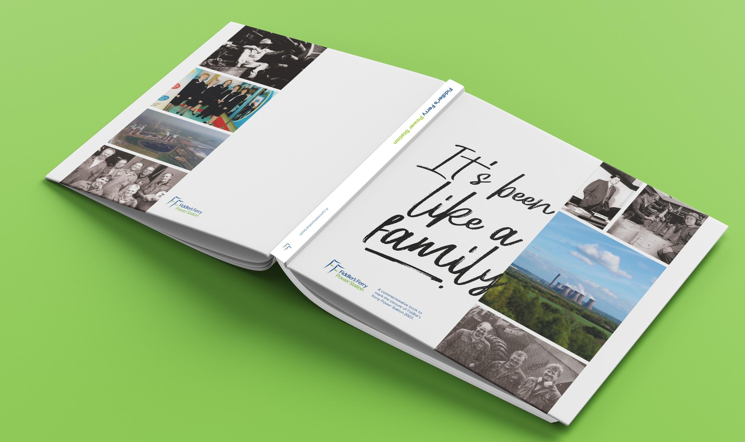 Fiddler's Ferry Book Design Print