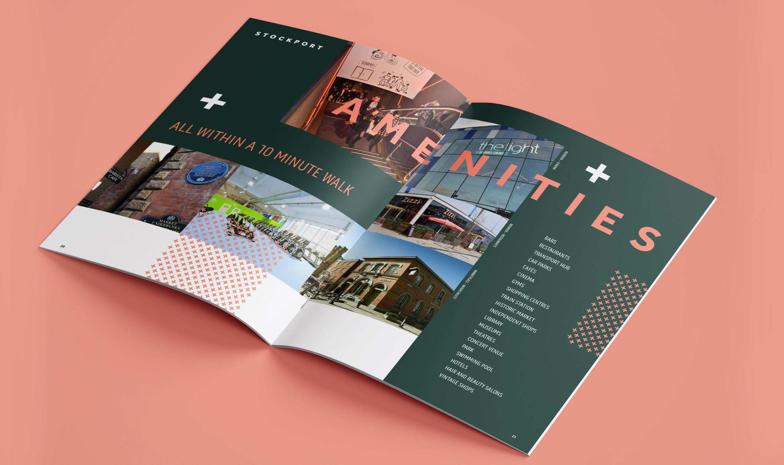 STOK Stockport Manchester Brochure Design